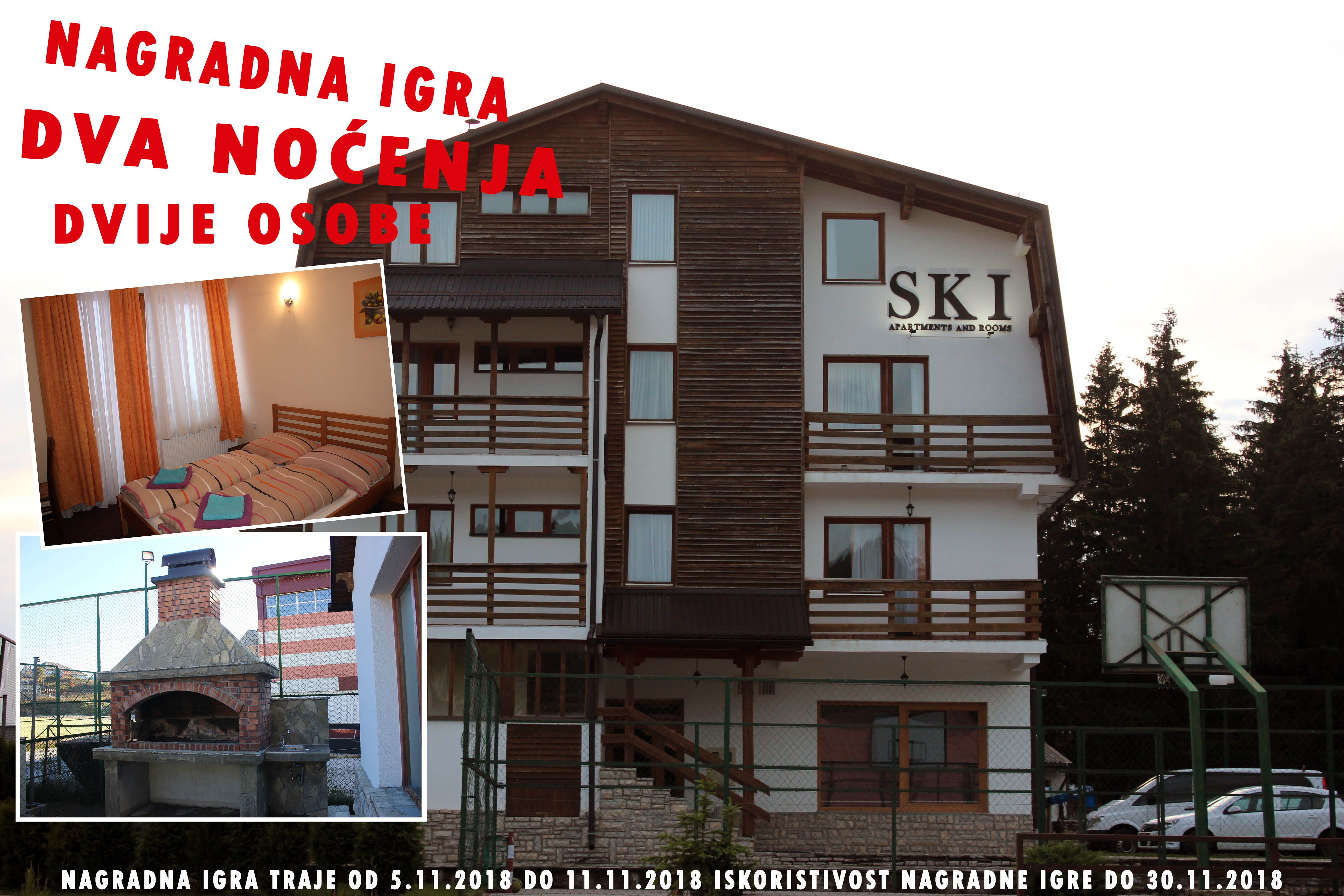 Dobitnik! Nagradna igra Apartments and rooms SKI